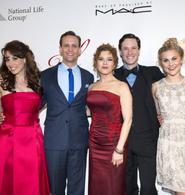 DAMES AT SEA Cast Performs At Bernadette Peters Gala